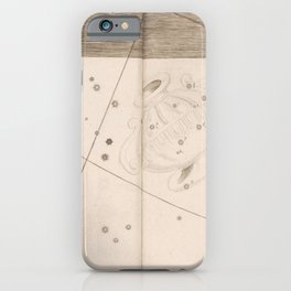 Johann Bayer - Uranometria / Measuring the Heavens (1661) - 41 Crater / The Cup iPhone Case