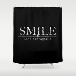 SMILE Shower Curtain