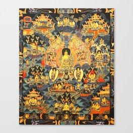 Mandala Buddhist 7 Canvas Print
