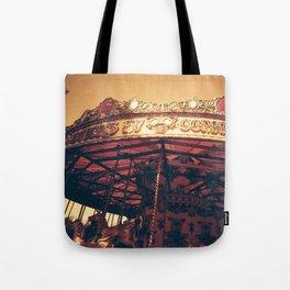 Redscale Carousel Tote Bag