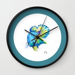 Watercolor 1 Wall Clock