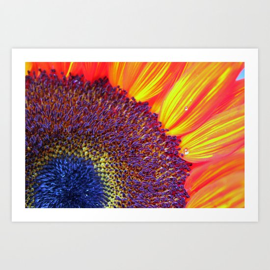 Center of attention Art Print