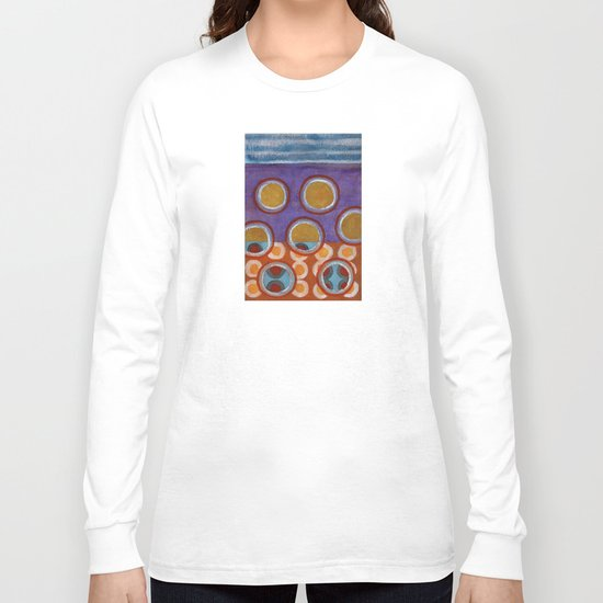 About the Second Reality inside the Bubbles Long Sleeve T-shirt