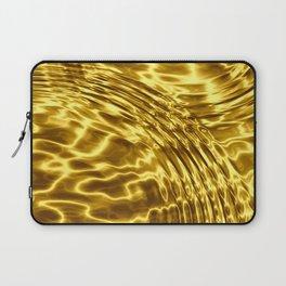 Gold Drops - Sumptuous Laptop Sleeve
