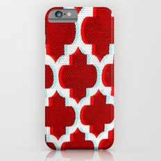 3 D Red Club Pattern iPhone 6s Slim Case