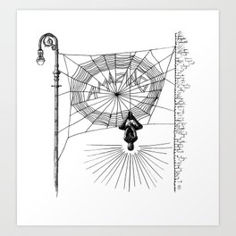 Peter's Web Art Print