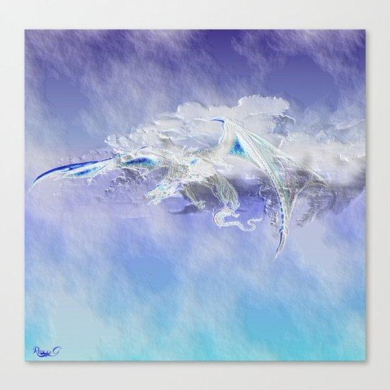 Sky Dragon Canvas Print
