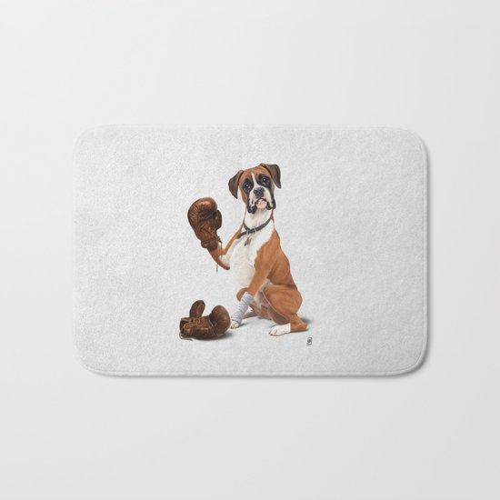 The Boxer (Wordless) Bath Mat