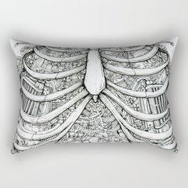 Biomechanics Rectangular Pillow