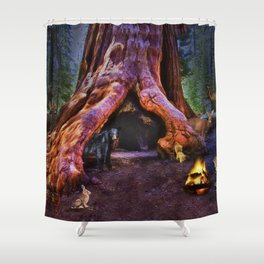 Magic in the Forest Shower Curtain