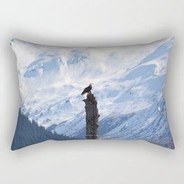 Perch With A View - V Rectangular Pillow