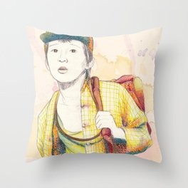 Short Round - Secondary character? Never! Throw Pillow