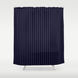 Perfect Pinstripes by Leslie Harlow Shower Curtain