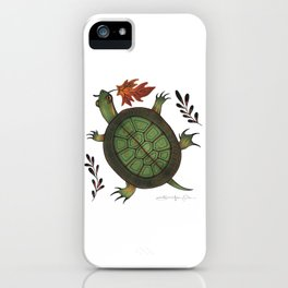 The Weight of the World iPhone Case