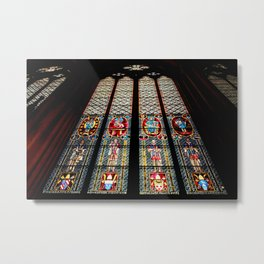 Cathedral Window Metal Print