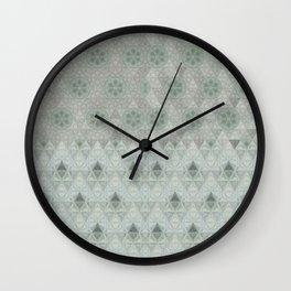 Kiwi Diamonds Wall Clock