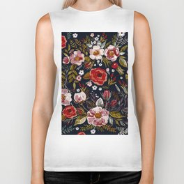 Vintage & Shabby Chic - Country Floral Biker Tank
