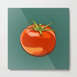 Tomato Patterns  Metal Print
