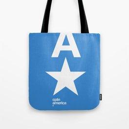 cptn america Tote Bag