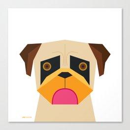 Pug Canvas Print