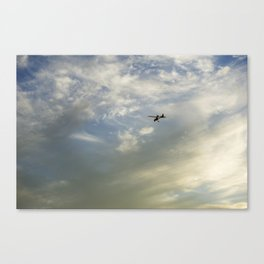 Flying High Cloudscape Canvas Print