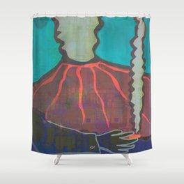 Don Vulcano Shower Curtain