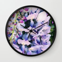 Wisteria Lane Wall Clock