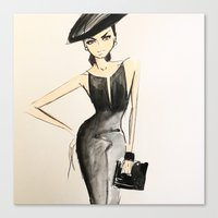 scrubs Canvas Prints featuring sketch by scrubs to couture by Scrubs to Couture- by Craig