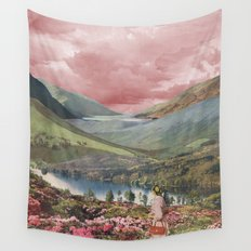 Highland Dusk Wall Tapestry
