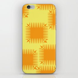 Abstract squares iPhone Skin