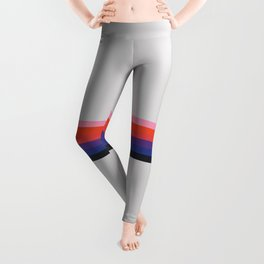 Retro Stripes 07 Leggings
