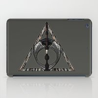 deathly hallows iPad Cases featuring Master of Death by Talesanura
