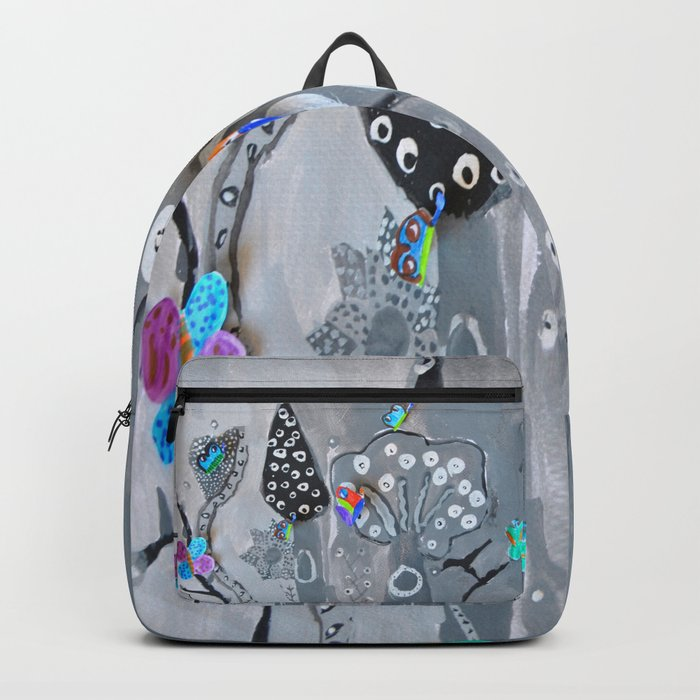 Paper Painting Forest #society6 Backpack
