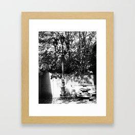 Quiet Corner - Salem, Mass. Framed Art Print