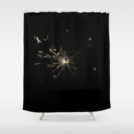 Firework For Cowards ;-) Shower Curtain
