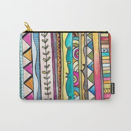 Rebekah Tribal Design Carry-All Pouch