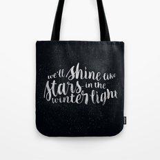 Shine like Stars - Winter Tote Bag