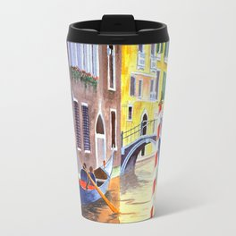 Reflections Of Venice Italy Travel Mug