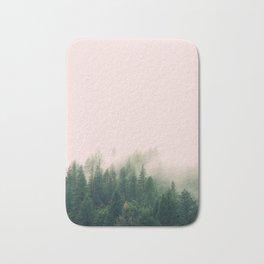 Pink Fog Bath Mat