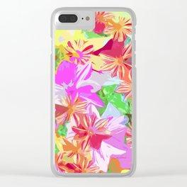Holi Clear iPhone Case