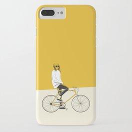 The Yellow Bike iPhone Case