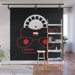 Retro view finder toy Wall Mural