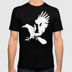 The Crow Black Mens Fitted Tee X-LARGE