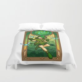 Sage of the Forest Duvet Cover