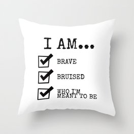 This Is Me Throw Pillow