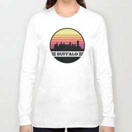 Buffalo Skyline Long Sleeve T-shirt
