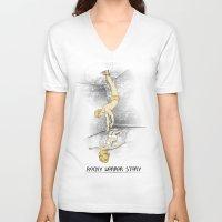 rocky horror V-neck T-shirts featuring Rocky Horror Story by DiHA