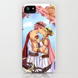 Natsu and Lucy- Gods of Old iPhone Case