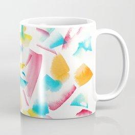 180719 Koh-I-Noor Watercolour Abstract 18 | Watercolor Brush Strokes Coffee Mug