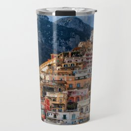Positano, ITALY #SOCIETY6 #DECOR #BUYART Travel Mug